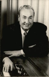 Jerry Burke, organist on the Lawrence Welk Show