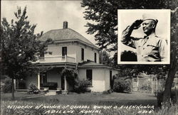 Residence of Mother of General Dwight D. Eisenhowwer