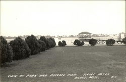 View of the Park and Private Pier, Tivoli Hotel