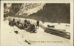 The Bobsled Couse at Les Diablerets