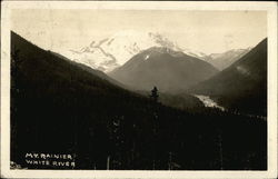 View of Mount Ranier and the White River