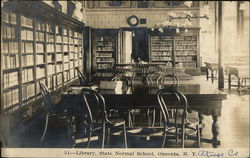 The Library at State Normal School
