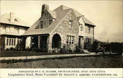 Residence of S. E. Musser, Photographer