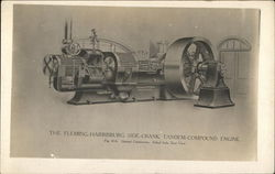 The Fleming-Harrisburg Side-Crank Tandem-Compound Engine