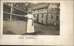 Anna Jackson By Paxton Flour and Feed Co. Postcard