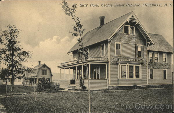 Girls' Hotel, George Junior Republic Freeville New York