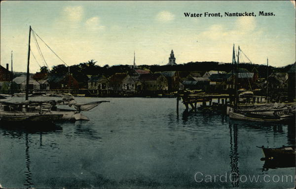Waterfront Nantucket Massachusetts
