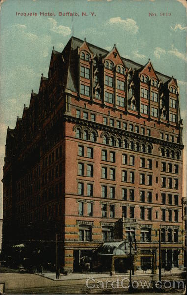 Iroquois Hotel Buffalo New York