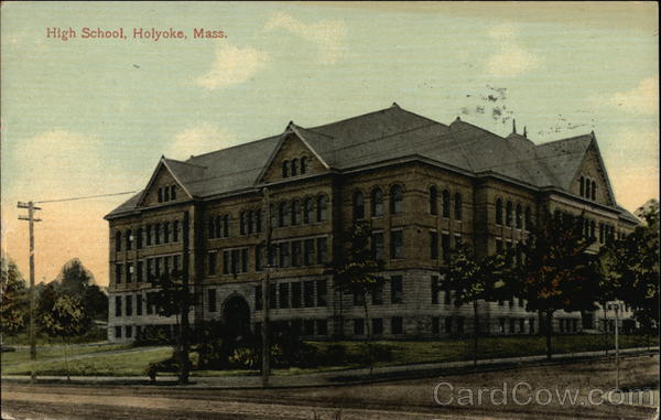 High School Holyoke Massachusetts