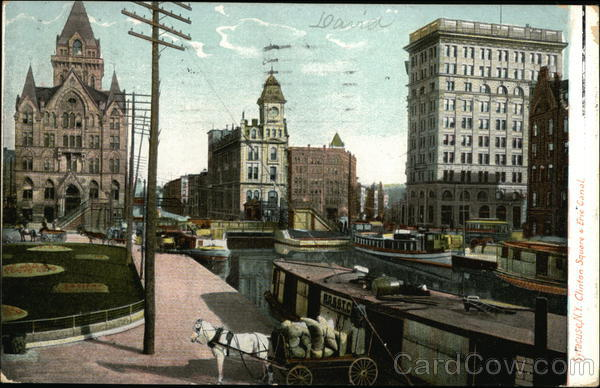 Clinton Square and Erie Canal Syracuse New York