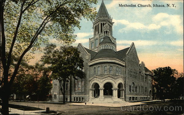 Methodist Church Ithaca New York
