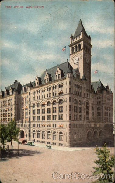 View of Post Office (now Trump International Hotel) Washington District of Columbia