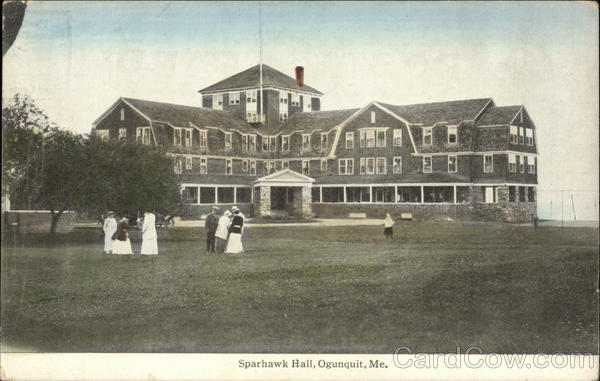 Sparhawk Hall Ogunquit Maine