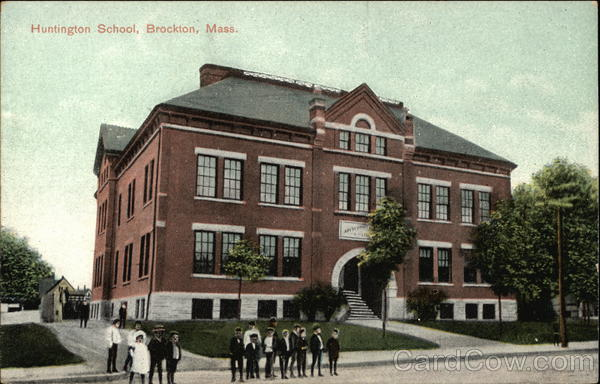 Huntington School Brockton Massachusetts