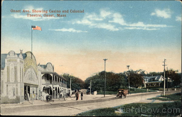 Onset Avenue showing Casino and Colonial Theatre Massachusetts