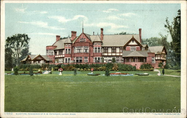 Blantyre - Residence of R. W. Paterson Lenox Massachusetts