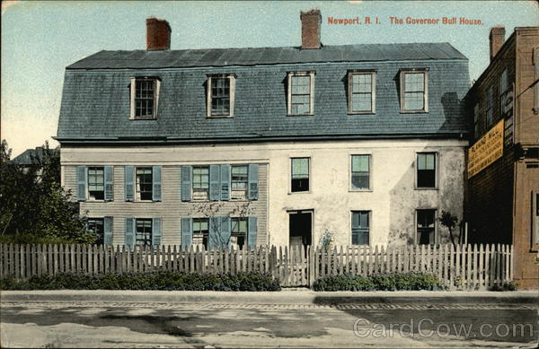 The Governor Bull House Newport Rhode Island