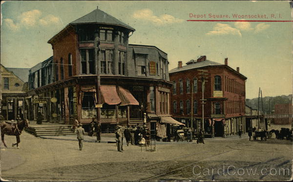 Depot Square Woonsocket Rhode Island