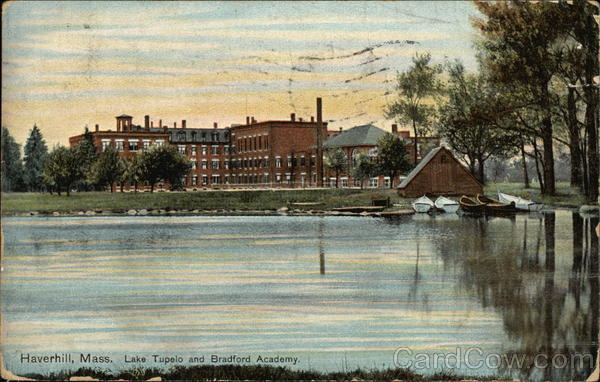 Lake Tupelo and Bradford Academy Haverhill Massachusetts