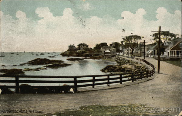 Fort Beach Marblehead Massachusetts
