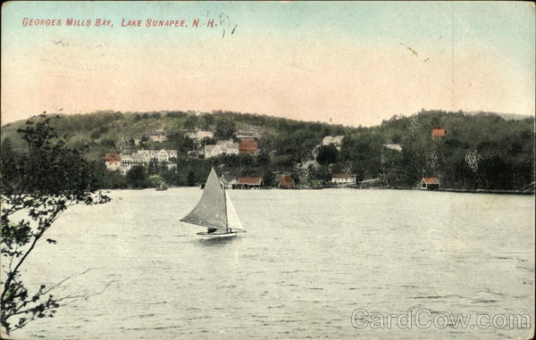 Georges Mill Bay Lake Sunapee New Hampshire