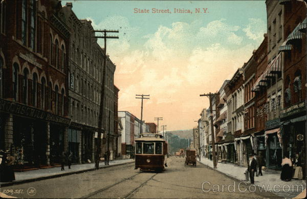 State Street Ithaca New York