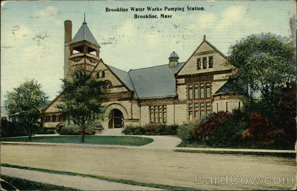 Brookline Water Works Pumping Station Massachusetts