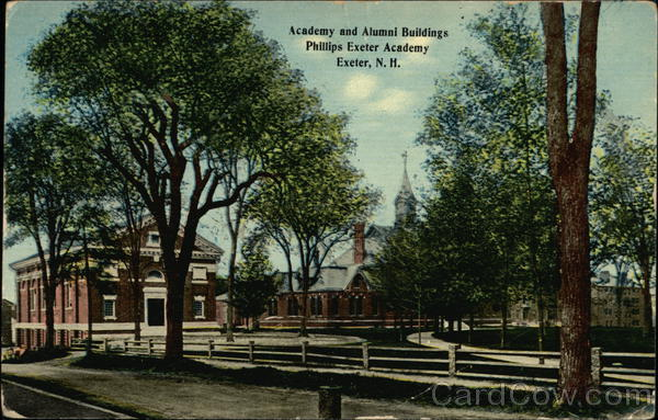 Phillips Exeter Academy - Academy and Alumni Buildings New Hampshire