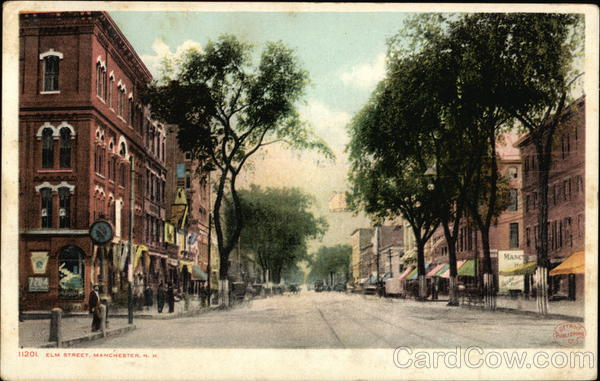 Elm Street Manchester New Hampshire