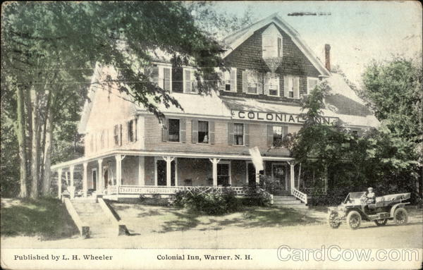 Colonial Inn Warner New Hampshire