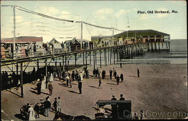 Pier, Old Orchard Beach Maine