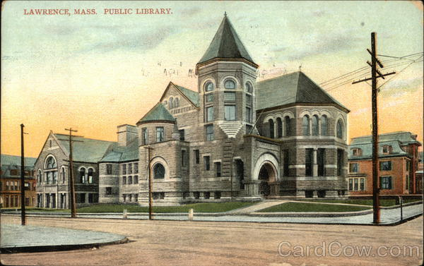 Public Library Lawrence Massachusetts