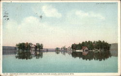 Cedar Island Camp, Fourth Lake, Fulton Chain, Adirondack Mountains