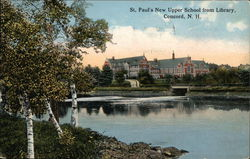 St. Paul's New Upper School from Library