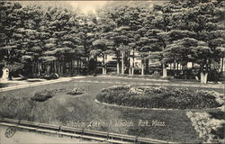Whalom Park and Lake Whalom Postcard
