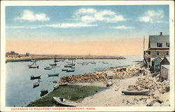 Entrance to Rockport Harbor