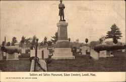 Soldiers and Sailors Monument, Edson Cemetery