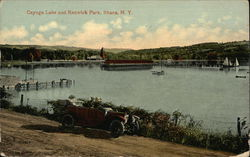 Cayuga Lake and Renwick Park