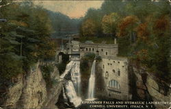 Triphammer Falls and Hydraulic Laboratory, Cornell University