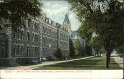 Morrill Hall and McGraw Hall, Cornell University