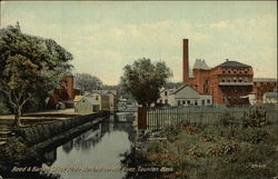 Reed & Barton Silver Plate Works from Mill River