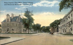 State Capitol, Post Office, State Library, and Historical Buildings