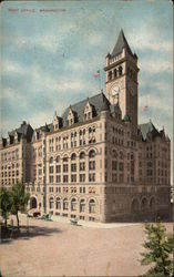 View of Post Office (now Trump International Hotel) Postcard