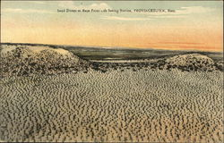 Sand Dunes at Race Point Life Saving Station