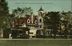 Erskine Park - Residence of Mr. George Westinghouse