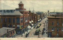 East Side of Main Street, South from Ward Street in 1905