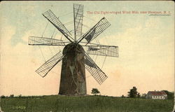 The Old Eight-Winged Wind Mill