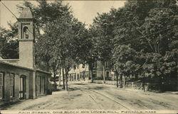 Main Street, Otis Block and Lower Mills