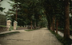 Main Street, North of Division Street Postcard