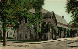 The St. Lukes Episcopal Church Postcard